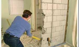 Как выполняется демонтаж несущей стены