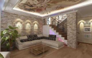 Облицовочные материалы в интерьере: стиль и дизайн