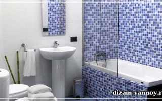 Отделка мозаикой ванной комнаты – как сделать самостоятельно