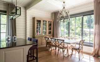 Отделка домов из бруса: варианты и материалы