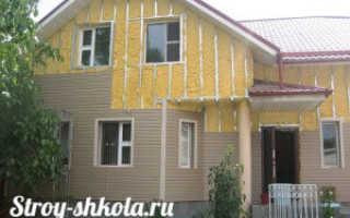 Как выполняется утепление стен снаружи деревянного дома