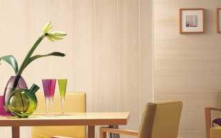 Отделка стен пластиковыми панелями ПВХ: пошаговая инструкция