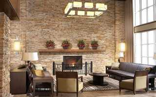 Декоративный камень в интерьере, облицовка искусственным и натуральным камнем для внутренних стен – 49 фото