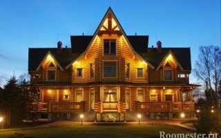 Калиброванные дома: внутренняя отделка и дизайн