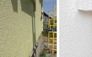 Краска фактурная фасадная: особенности использования