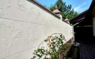 Штукатурка под бетон: декоративная отделка стен