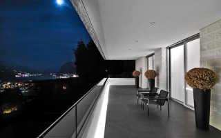 Отделка балкона декоративной штукатуркой: делаем сами