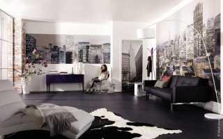 Панорамные фотообои: в какой комнате лучше использовать