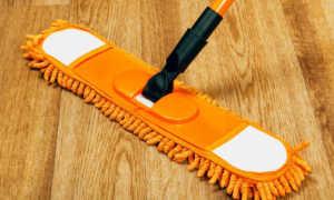 Как отмыть линолеум от грязи и пятен