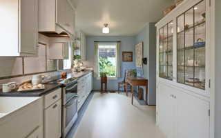 Линолеум на кухне: 50 фото в интерьере, идеи отделки в светлых и темных оттенках