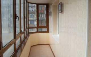 Отделанный балкон и лоджия – ваше ухоженное лицо на улице