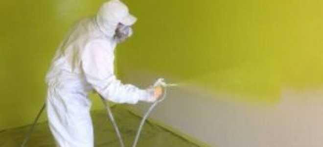 Как правильно подобрать пулевизатор для покраски стен