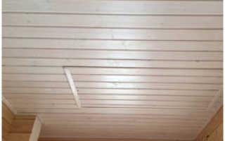 Внутренняя отделка бревенчатого дома: виды отделочного материала