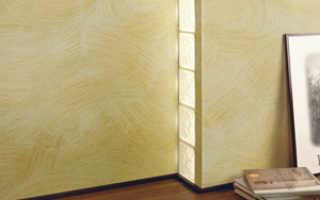 Структурная краска для стен: нанесение валиком