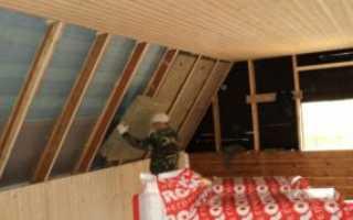 Утепление стен деревянного дома изнутри: технология