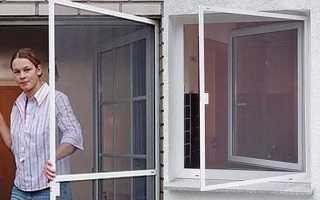 Москитная сетка для пластикового окна ручной работы – пошаговая инструкция