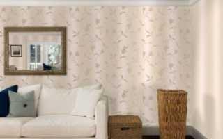 Флизелиновые обои для стен: их виды и правила отделки