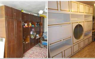Как покрасить мебель из ДСП своими руками