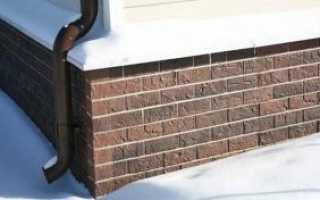 Блоки для облицовки цоколя: материалы для фасадного дизайна