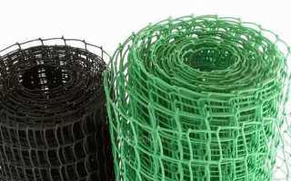 Штукатурная сетка пластиковая: особенности материала