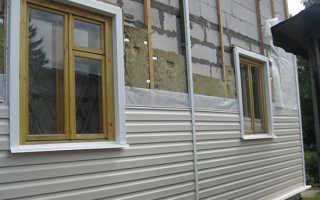 Дачные домики: облицовка сайдингом с утеплением и без него
