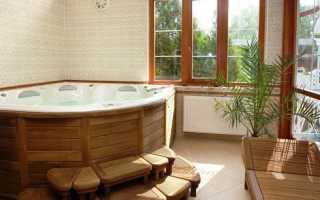 Виды отделки ванной комнаты: выбор материала