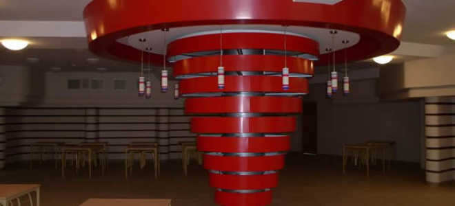 Облицовка колонн, как элемент декора