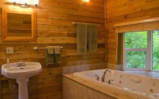 Вопрос по отделке ванной комнаты в сельской местности
