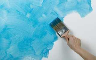 Краска на стены вместо обоев: изучаем азы технологии отделки