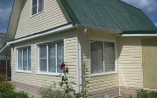 Как дом отделать сайдингом: привлекательность и экономия
