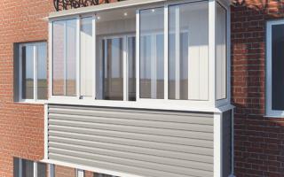Внешняя отделка балкона своими руками, виды отделочного материала