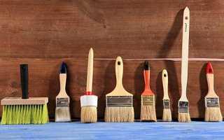 Кисточки для покраски: какие стоит выбирать