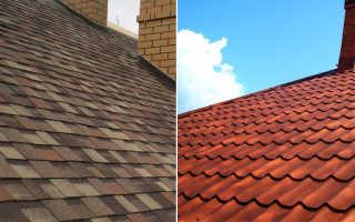 Что лучше металлического или мягкого рубероида для крыши частного дома?