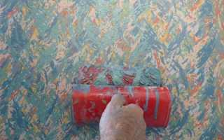 Нанесение декоративной краски
