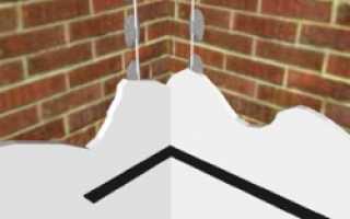 Как штукатурить углы: подробная инструкция