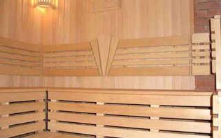 Варианты отделки бани: правила выбора древесины