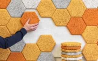 Какими материалами и как выполняется шумоизоляция стены