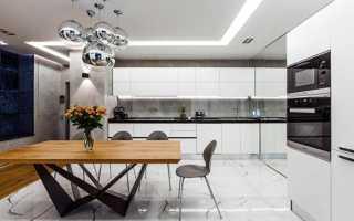 Высокотехнологичные кухни: 80 фотографий интерьеров, идей для ремонта