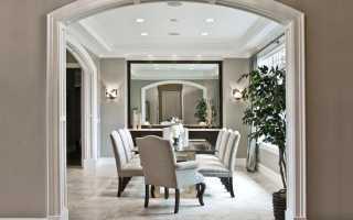 Арка в квартире: перевоплощение в декоративную конструкцию