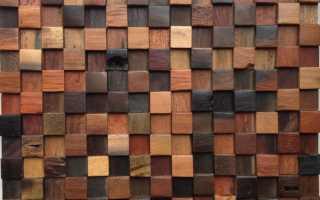 Деревянная мозаика для стен: где уместно применить