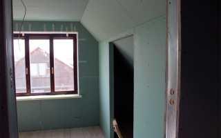 Облицовка стен гипсокартонными листами разными способами