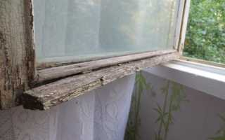Окраска деревянных оконных рам