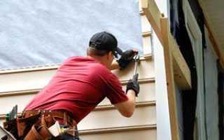 Как обшить стены дома из сайдинга своими руками: разновидности материала, пошаговая инструкция монтажа