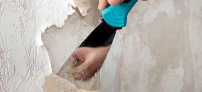 Как снимать флизелиновые обои и материал на другой основе