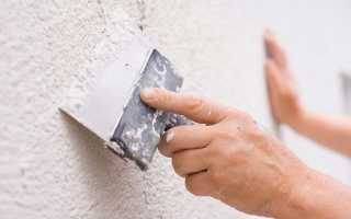 Как выполняется шпаклевка стен под покраску