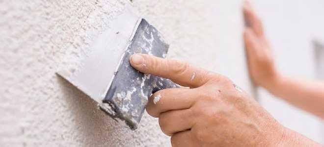 Шпатлевка стен под покраску с различными углами