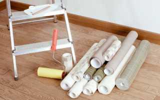 Поклейка обоев на масляную краску: как сделать правильно