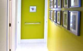Цвет в коридоре стен: стилевые особенности и выбор материалов