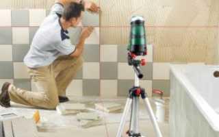 Как клеить керамическую плитку на стену своими руками