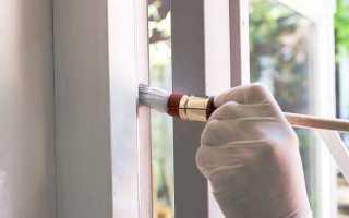 Как выполняется покраска деревянных окон